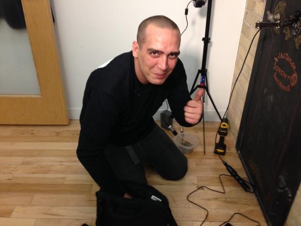 Toronto Safe Locked Vault CBC Josh Pothiers